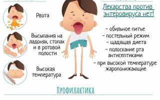 Сыпь при энтеровирусной инфекции у детей — причины с фото