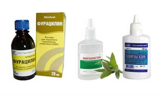 Раствор Фурацилина для полоскания рта и десен: показания и инструкция