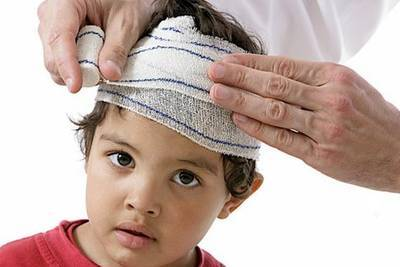 Шишка на лбу у детей и взрослых после удара или другие причины