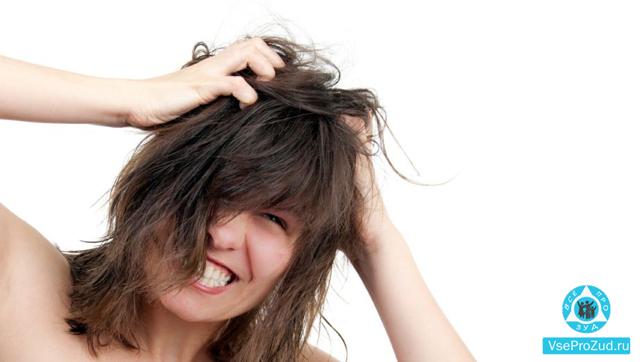 Лечение зуда кожи головы в домашних условиях
