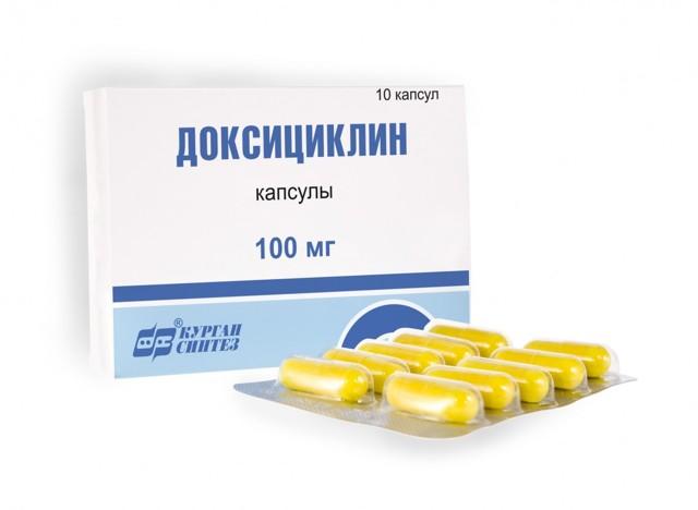 Доксициклин от прыщей: инструкция по применению и отзывы